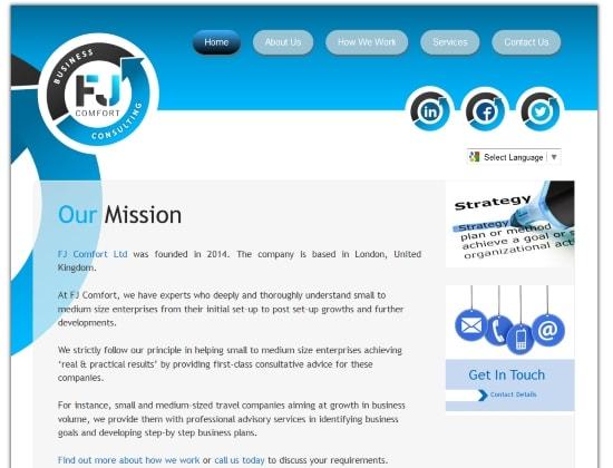 Logo-website-design-hosting-Ipswich-Customer-FJ-Comfort