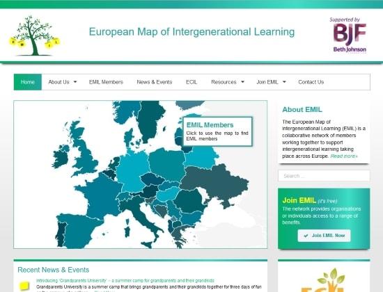 EMIL website - By E-Success, Ipswich
